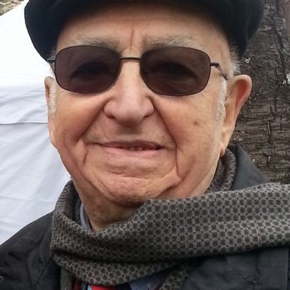 Pasquale Cinefra in visita a Bosco Marengo