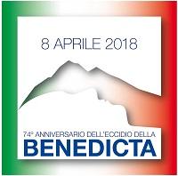 74° Anniversario dell'eccidio della Benedicta