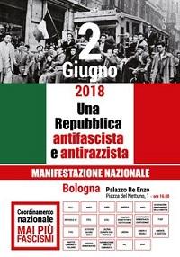 """""""300.000 le firme raccolte per l'appello Mai più fascismi. Il 2 giugno a Bologna un grande giorno di unità e democrazia"""""""