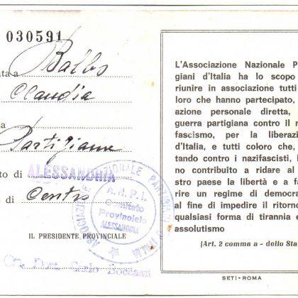 """""""SIAMO TUTTI CLAUDIA"""" – Borsa di studio intitolata a Claudia Balbo –"""