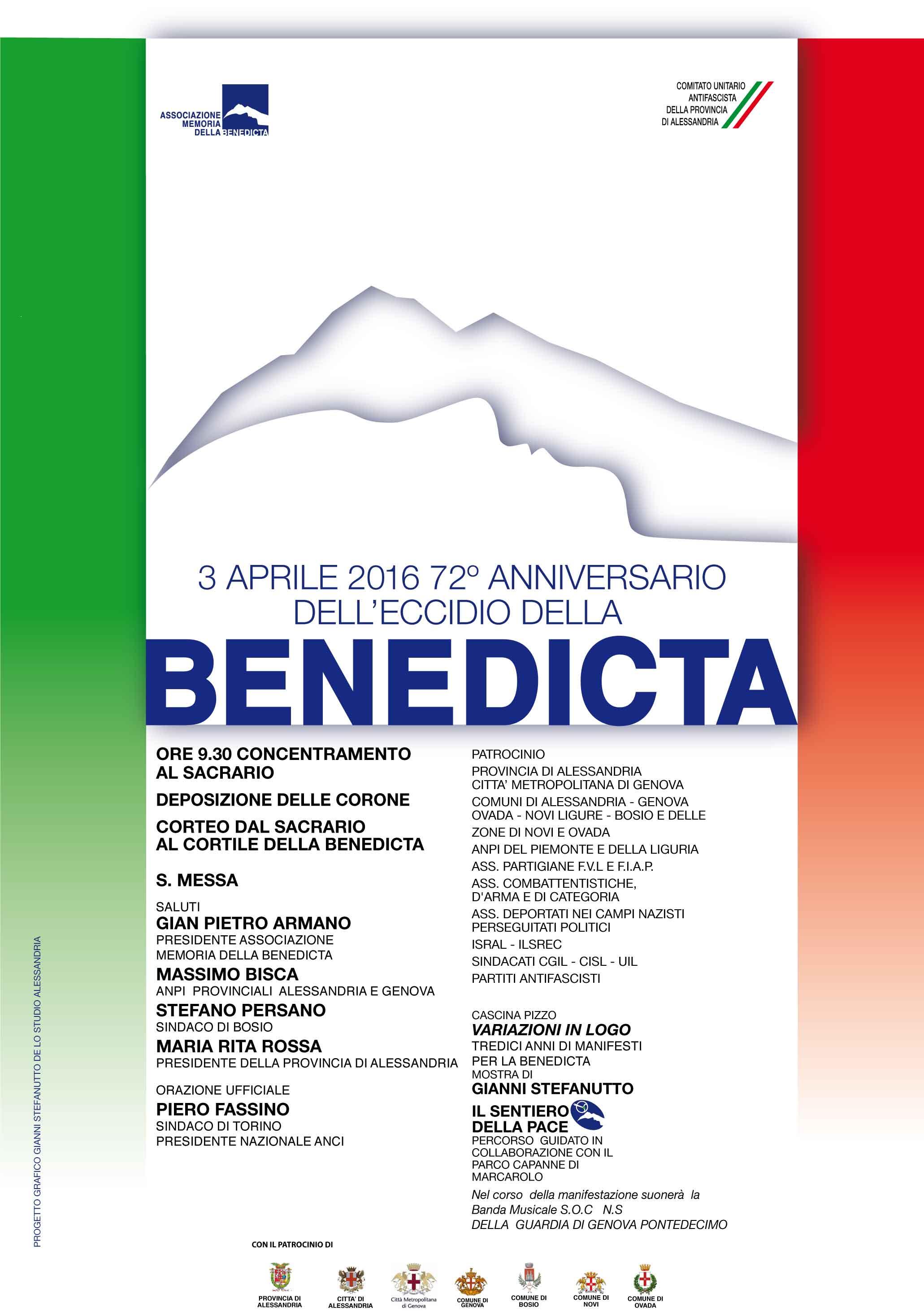 domenica 3 aprile: 72° anniversario dell'eccidio della Benedicta