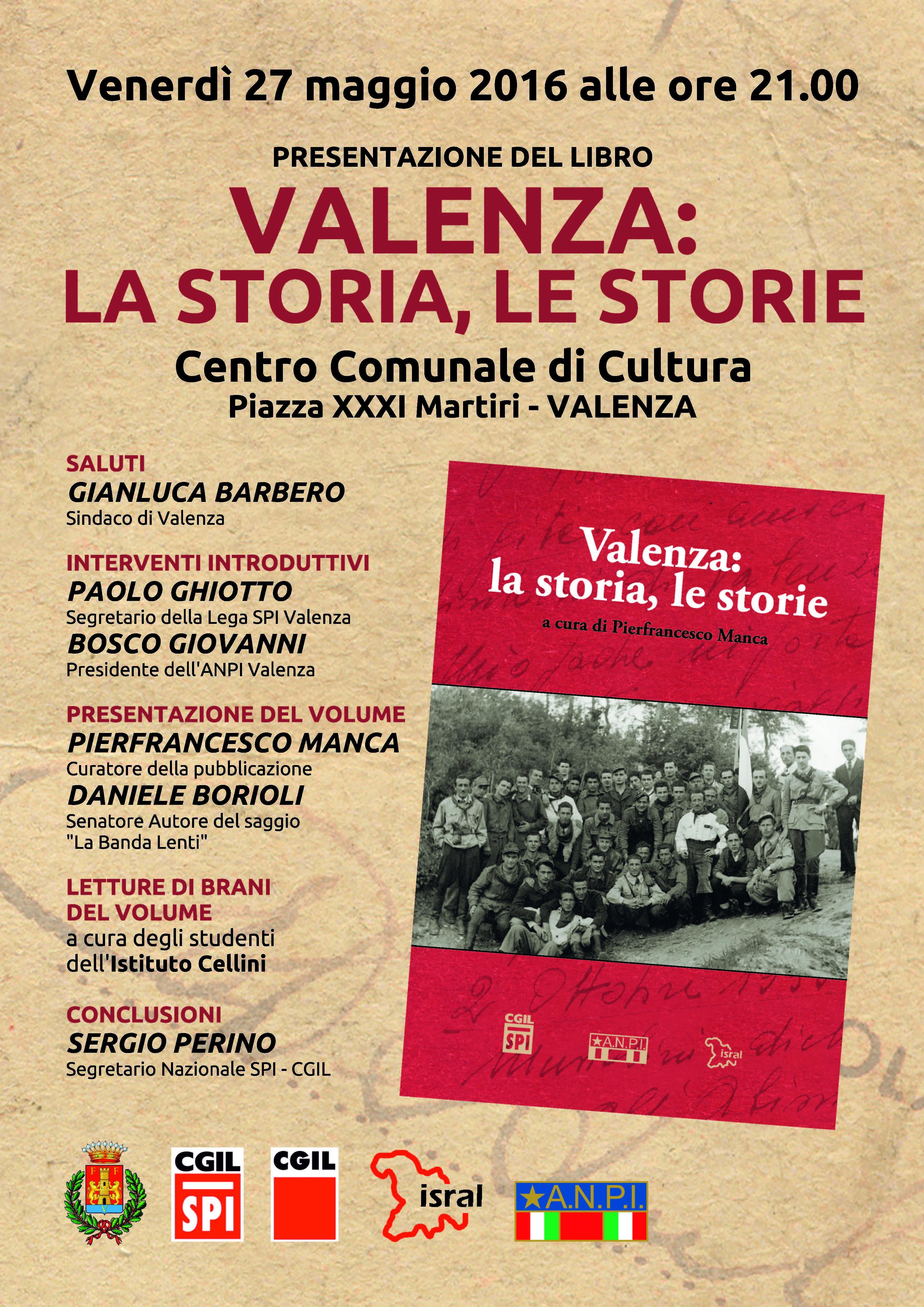 """Valenza:""""La storia, le storie"""""""