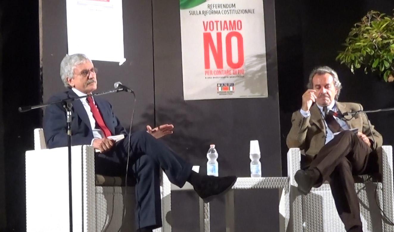 Intervento di Massimo D'Alema – 21 novembre 2016 – Alessandria