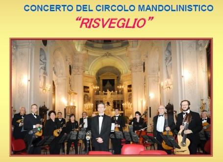 """Concerto del Circolo Mandolinistico """"RISVEGLIO"""" – Morbello (AL)"""